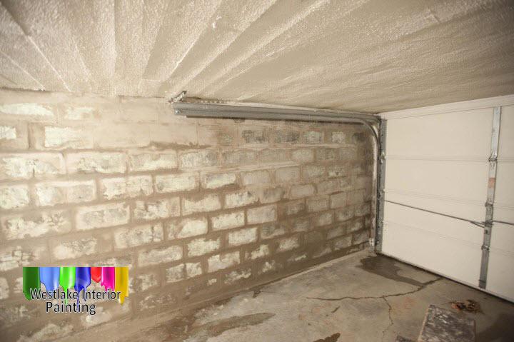 Garage interior in avon